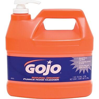 GOJO® Natural Orange™ Pumice Hand Cleaner, Orange Citrus, 1 gal.