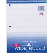 Roaring Spring® Wide-Ruled Loose Notebook Filler Paper, 200 Sheets Per Pack