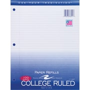 "Roaring Spring® College Ruled Loose Notebook Filler Paper, 8-1/2x11"", 100 Count"