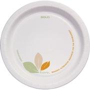 """Solo® Bare™ 6"""" Paper Plates, Design, 1,000/Ct"""