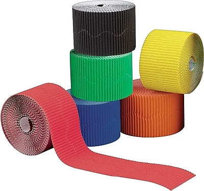 Bemiss-Jason® Bordette Border Rolls, 6-Pack, Assorted Colors