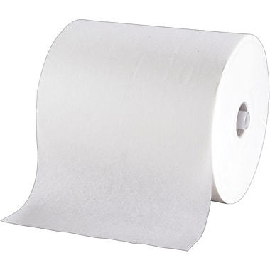 enMotion® Recycled Hardwound Paper Towel Rolls; White, 1-Ply, 6 Rolls/Case