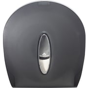 Georgia Pacific® Jumbo Jr. Toilet Paper Dispenser by GP PRO, Translucent Smoke (59009)