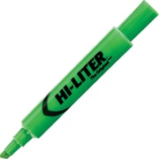 Avery HI-LITER Desk Style Highlighters, Chisel Tip, Fluorescent Green, Dozen