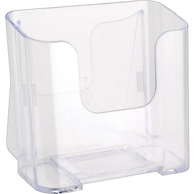 Deflecto-o® Single Compartment Literature Holder, Leaflet Size