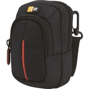 Case Logic DCB-302 Compact Digital Camera Case with Storage, Black