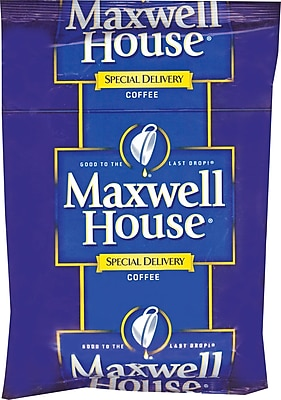 Maxwell House Special Delivery Regular Filter Packs, 1.2 oz., 42 Packets