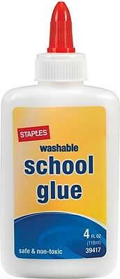 Staples School Glue, 4 oz., 48pk (39417)