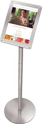 Staples Premium Floor Sign Holder, Displays 8 1/2