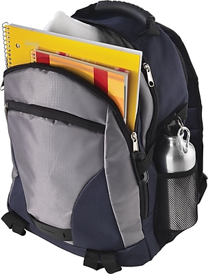 Backpack With Aluminum Water Bottle