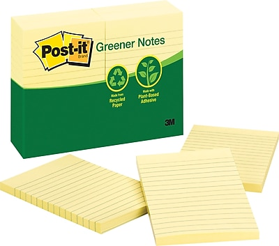 Post-it® Recycled Notes, 4