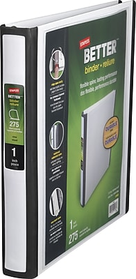7 ring business check binder staples