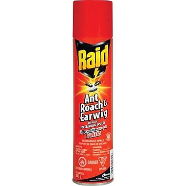 RaidMD – Vaporisateur contre fourmis, coquerelles et perce-oreilles, 350 g