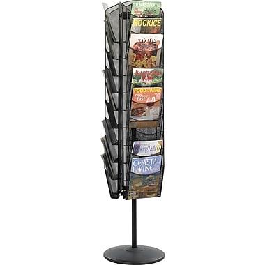 Safco® Onyx Rotating Mesh Magazine Stand