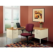 """HON Metro Classic HP3236L 42"""" Table Component Desk, Harvest (HONP3236LCL)"""