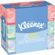 Kleenex® Facial Tissues, Designer Box, 2-Ply, 3/Pack