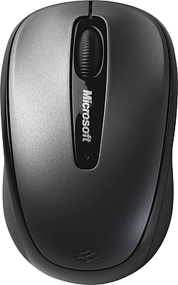 Microsoft USB Wireless Mobile Mouse 3500, Loch Ness Gray (GMF-00010)