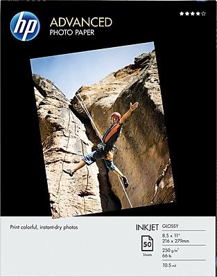 HP Advanced Photo Paper, 8 1/2