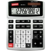 Staples BD-9512 12-Digit Heavy-Duty Desktop Calculator
