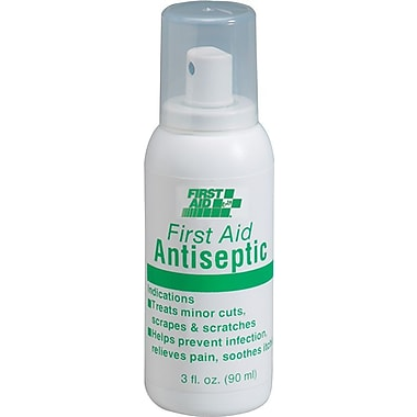 First Aid Only™ M5081 Antiseptic Pump Spay, Lidocaine 2.5%, 3 oz.