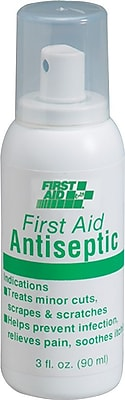 First Aid Only™ Antiseptic Spray, 3-oz. Pump