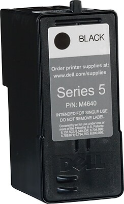 Dell Series 5 Black Ink Cartridge M4640 High Yield Staples
