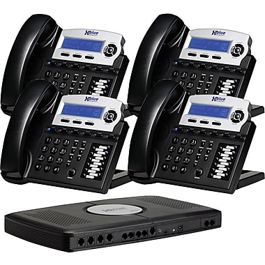XBlue X16 Small Office Telephone System, 4pk