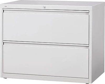 staples commercial 36 wide 2 drawer lateral file cabinet gray rh staples com 2 drawer lateral filing cabinet with hutch 2 drawer lateral filing cabinet staples