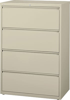 Staples Commercial 36 Quot Wide 4 Drawer Lateral File Cabinet