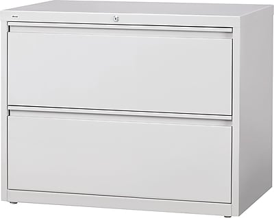 2 drawer lateral file cabinet wood staples 2drawer lateral file cabinet locking letterlegal gray 42 commercial