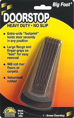 Master Caster® Door Stop, Brown