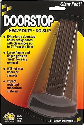 Master Caster® Door Stop, Giant Brown
