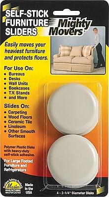 Mighty Mite Furniture Sliders, 4 Pack