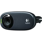 Logitech C310 HD 720p Computer Webcam with Microphone (960-000585)