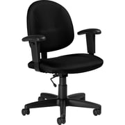 Global® Contoured Task Chair, Ebony