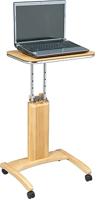 OSP Designs™ Mobile Veneer Laptop Desk, Maple