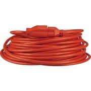 Innovera Indoor/Outdoor Heavy-Duty Extension Cord, 50', Orange