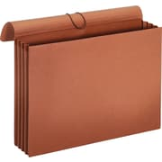 """Staples® Expanding Wallets with Mylar Strip Reinforced Gussets, 12"""" X 18"""", 3 1/4"""" Expansion, 2 Pack"""