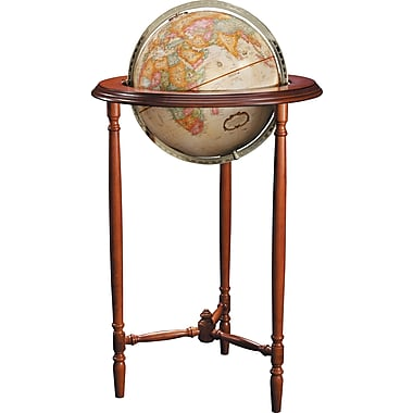 Replogle - Mappemonde style antique Saratoga de 12 po