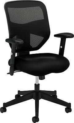 Mesh Back TaskComputer Chair for Office and Computer Desks Black