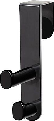 Safco® Plastic Over the Door Coat Hook, Double Hook, 1-3/4 x 3-3/4 x 7-3/4