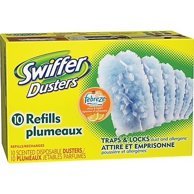 Swiffer Duster Refills, Citrus & Light scent, 10/Pack