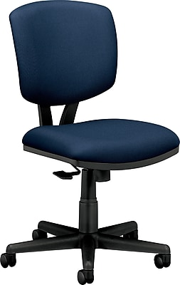 HON Volt Fabric Computer and Desk Office Chair, Armless, Navy (H5703GA90T.COM) NEXT2017