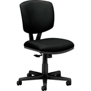 HON Volt Fabric Computer and Desk Office Chair, Armless, Black (H5701GA10T.COM) NEXT2017