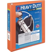 "Avery Heavy-Duty View Binder with 3"" One Touch EZD Rings, Orange (17556)"