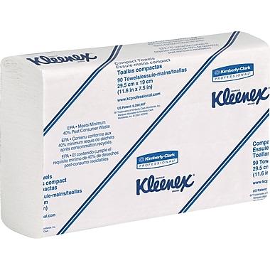 KleenexMD – Recharges d'essuie-tout SLIMFOLD, blanc, 24/bte