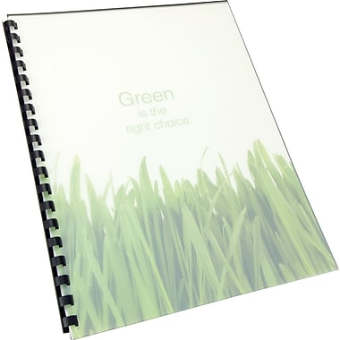 GBC® 100% Recycled Poly Covers, Frost