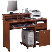 Bestar Legend Computer Desk, Tuscany Brown