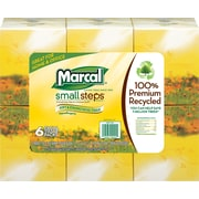 Marcal® <span style=color:green>100% Recycled</span> Facial Tissues, 2-Ply