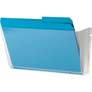 Staples® Unbreakable Single Wall Pocket, Letter-Sized, Clear